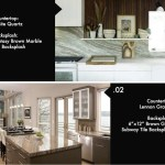 8 Beautiful Kitchen Countertop Backsplash Combinations Econgranite