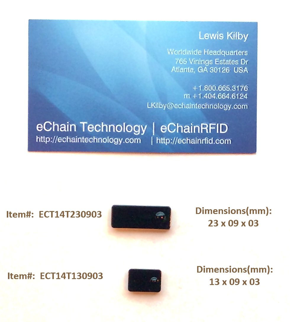 Micro/Mini UHF RFID On-Metal Tags