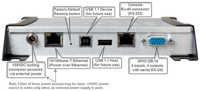 Impinj Speedway R420 UHF RFID Reader USA/FCC (4 Port) + Power