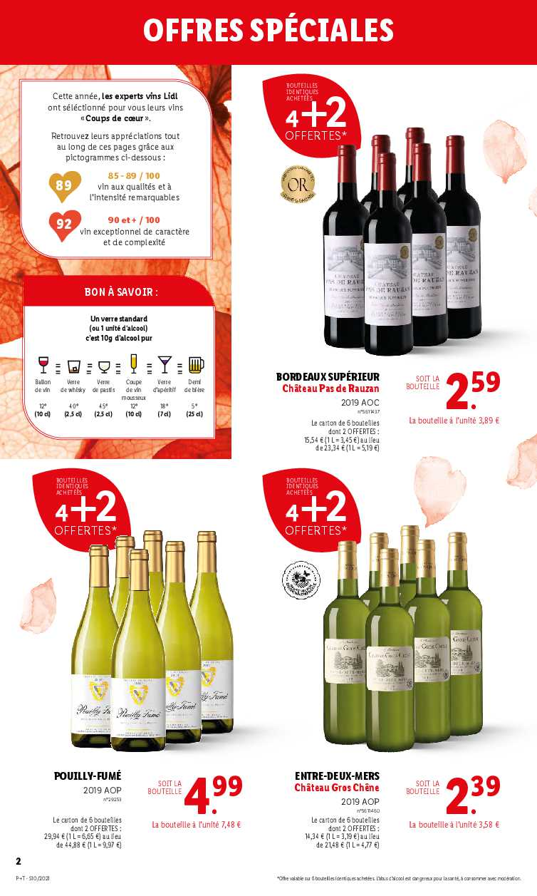 Foire Aux Vins Lidl 2020 : foire, Catalogue, Foire, Printemps, 2021)