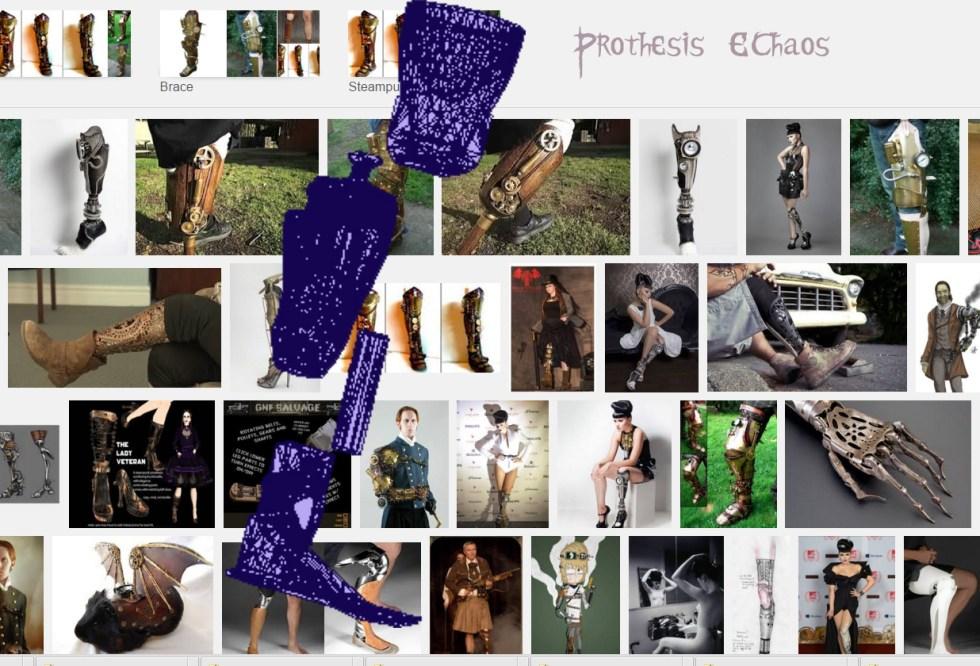 Blue Prints EChaos Prosthesis