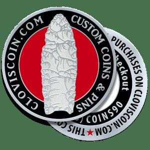 Clovis Coin Custom Challenge Coins