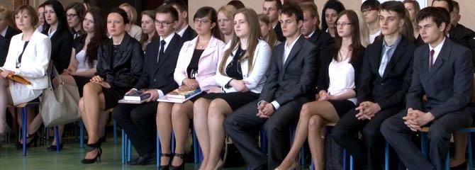 Wolsztyn - ZSZ zakończenie roku szkolnego klas maturalnych