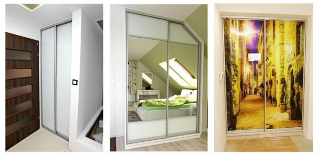 Jakie drzwi do szafy i dlaczego przesuwne?