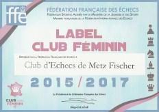 label Club Féminin