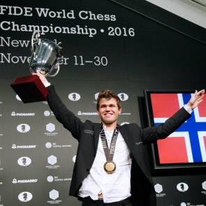 Magnus Carlsen champion du monde photo Anastasiya Karlovich