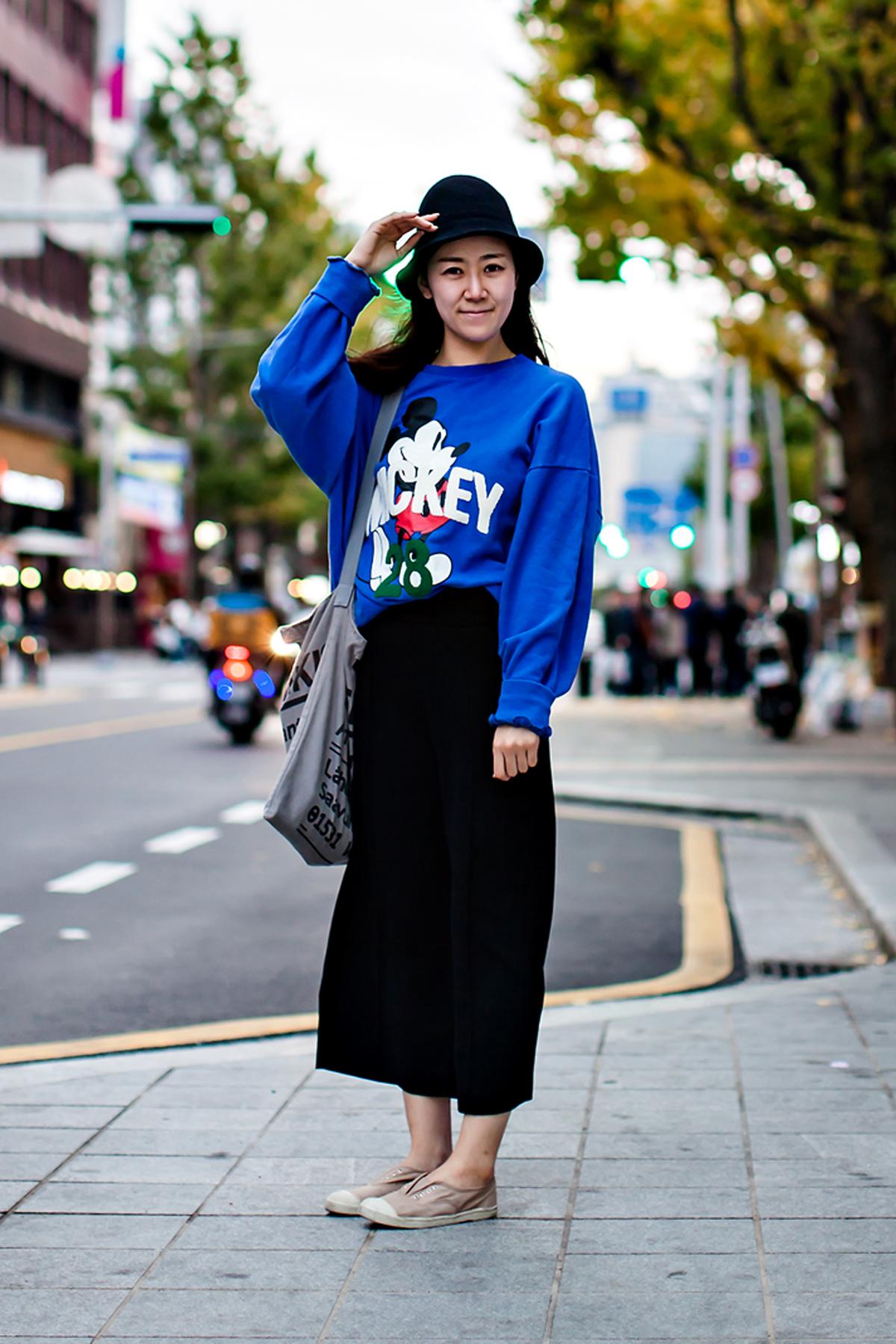 On the street… Kim Minji Busan