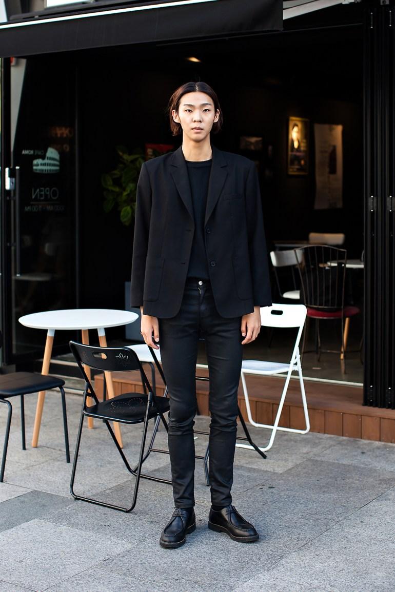 An Sungwook, Street Fashion 2017 in Seoul