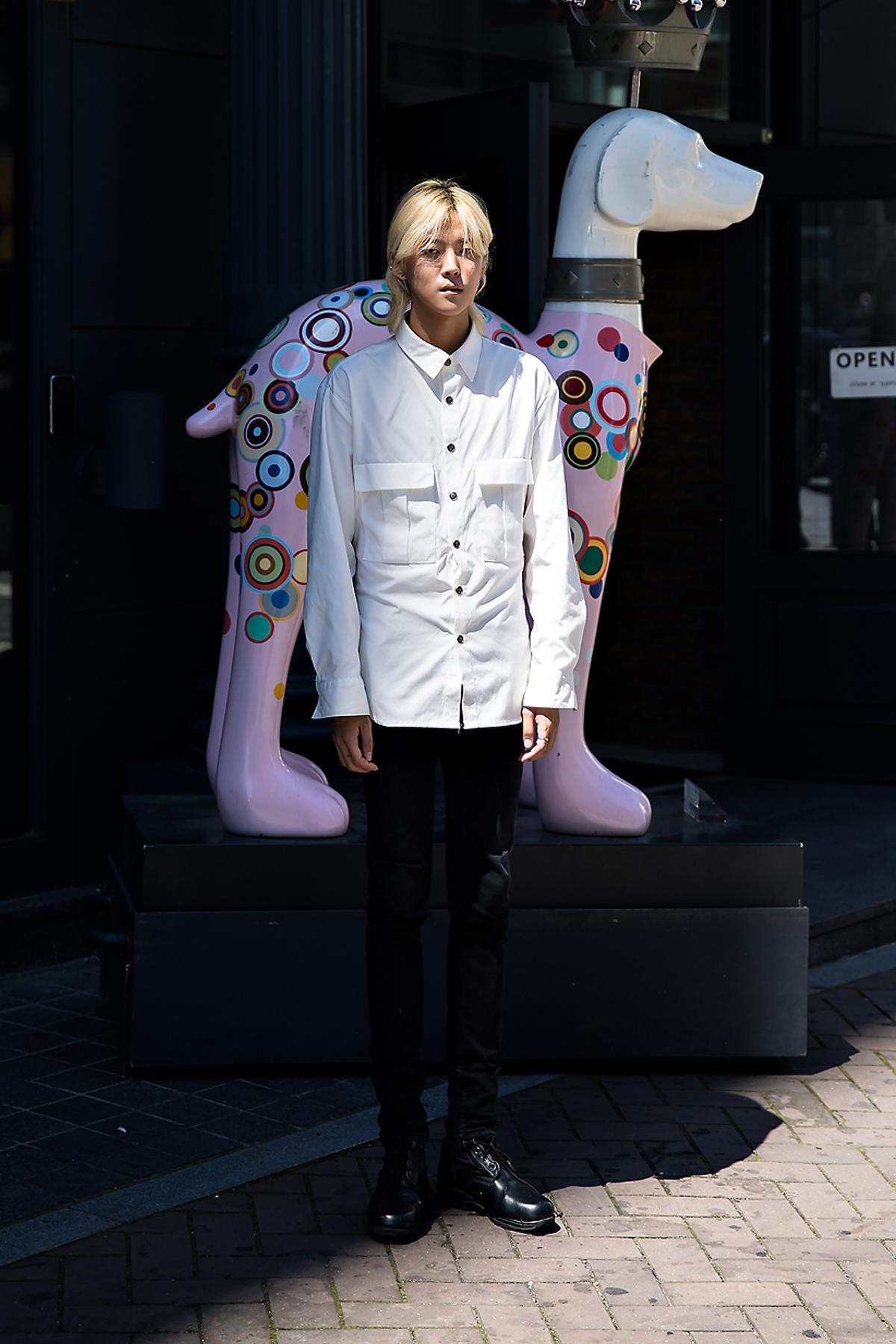 Joo Wondae, Street Fashion 2017 in Seoul