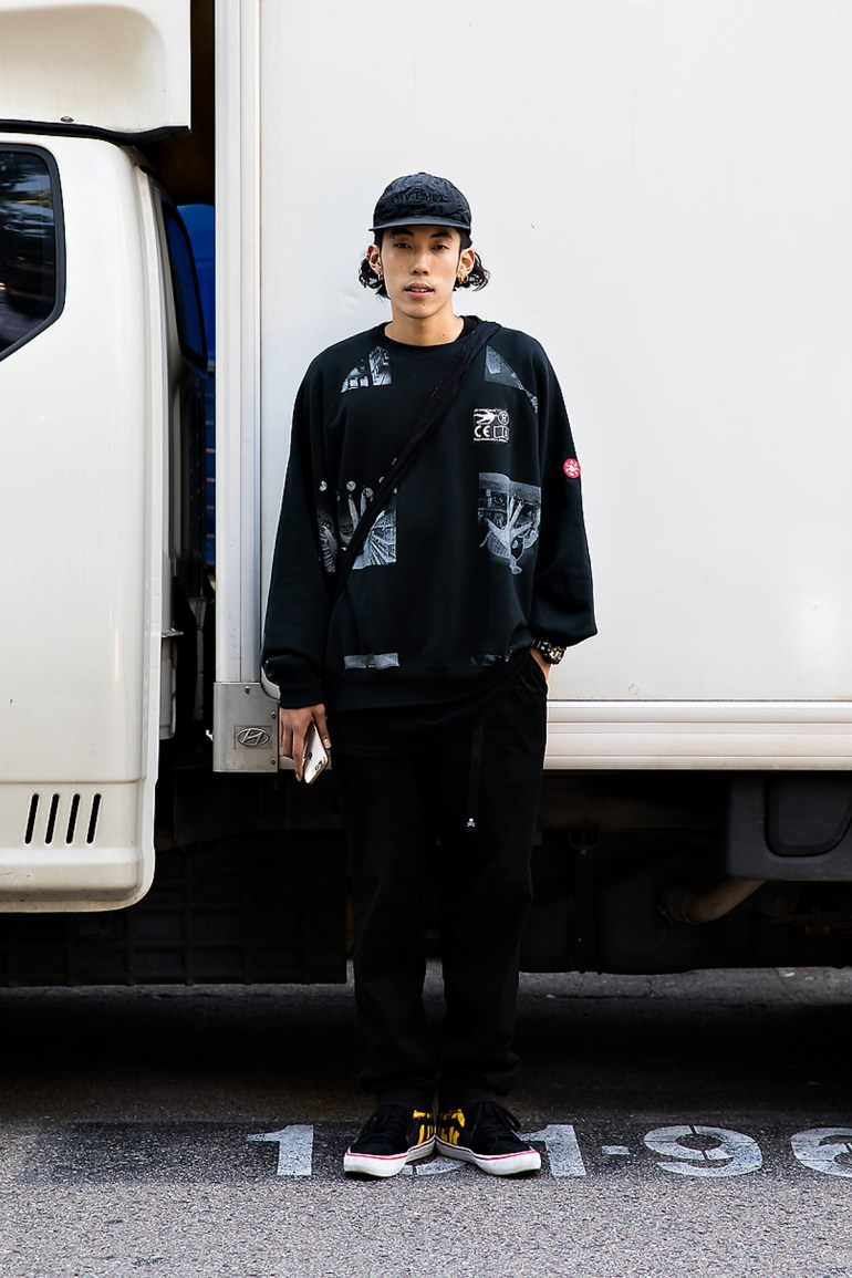 Kim Jinwook, Street Fashion 2017 in Seoul