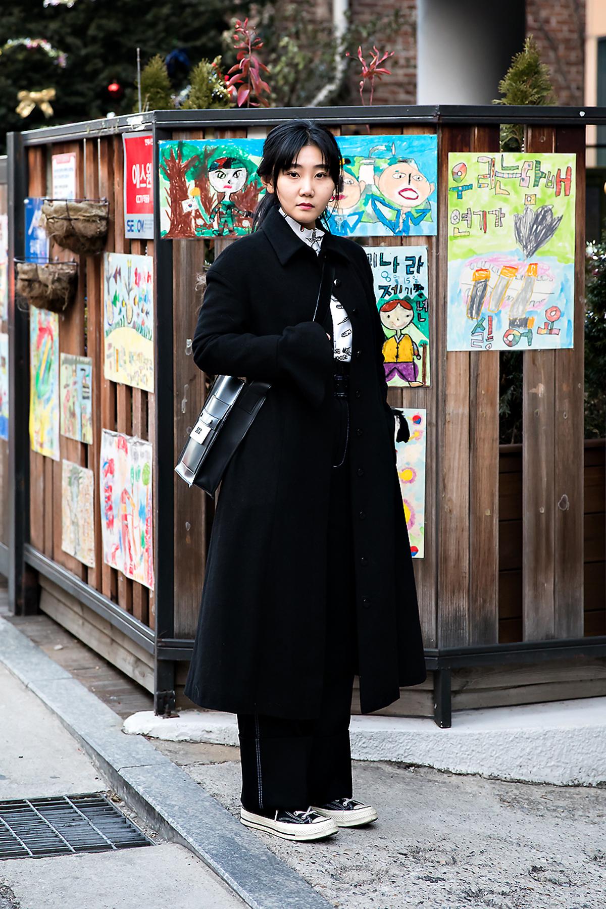 Byun Geurim, Street style women winter 2017 inseoul