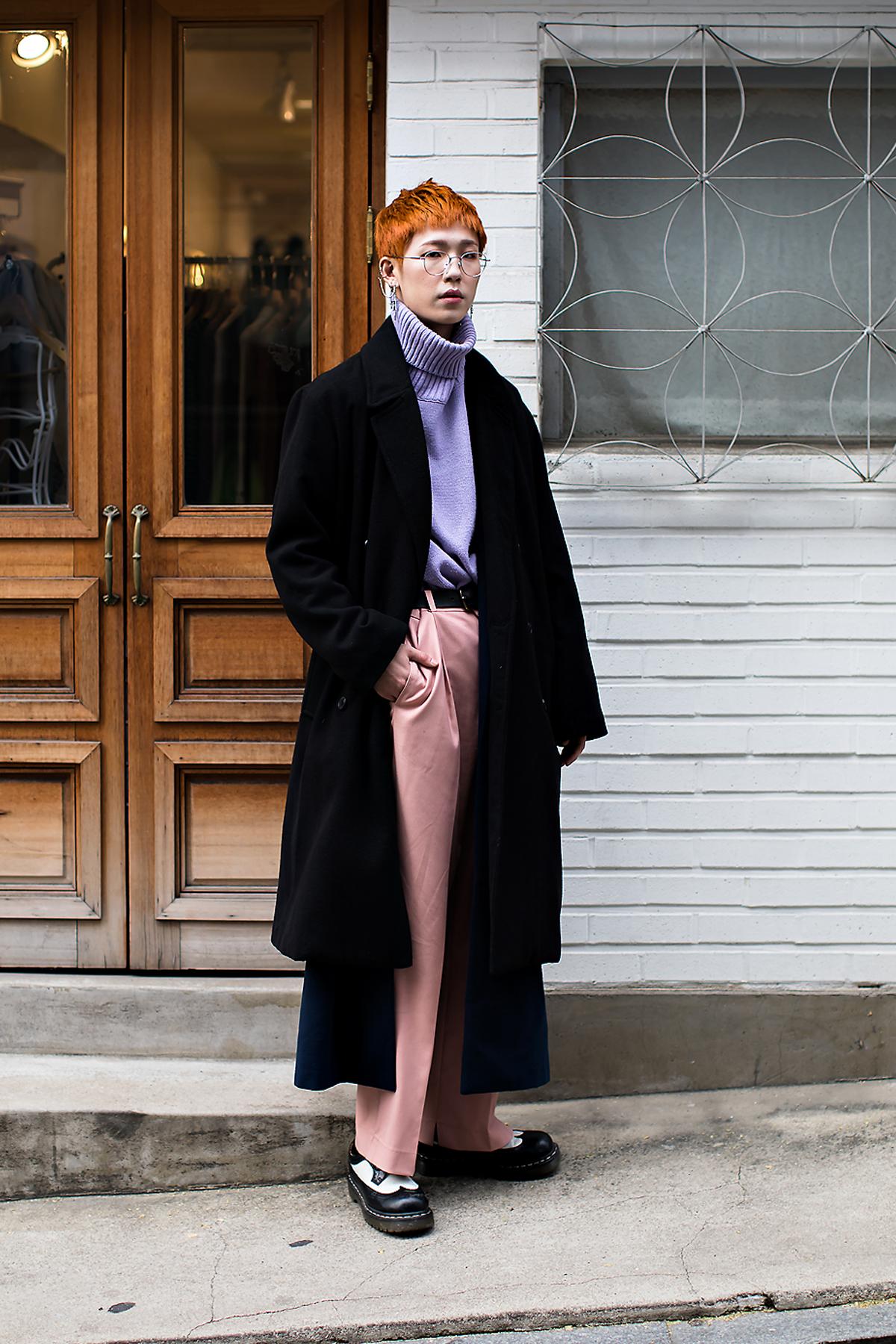Eum Hyukjin, Street style men winter 2017 inseoul