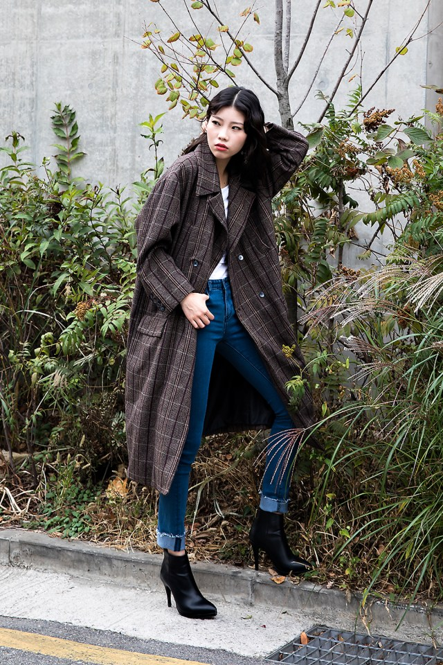 Han Hyeran, Street style women fall 2017 inseoul