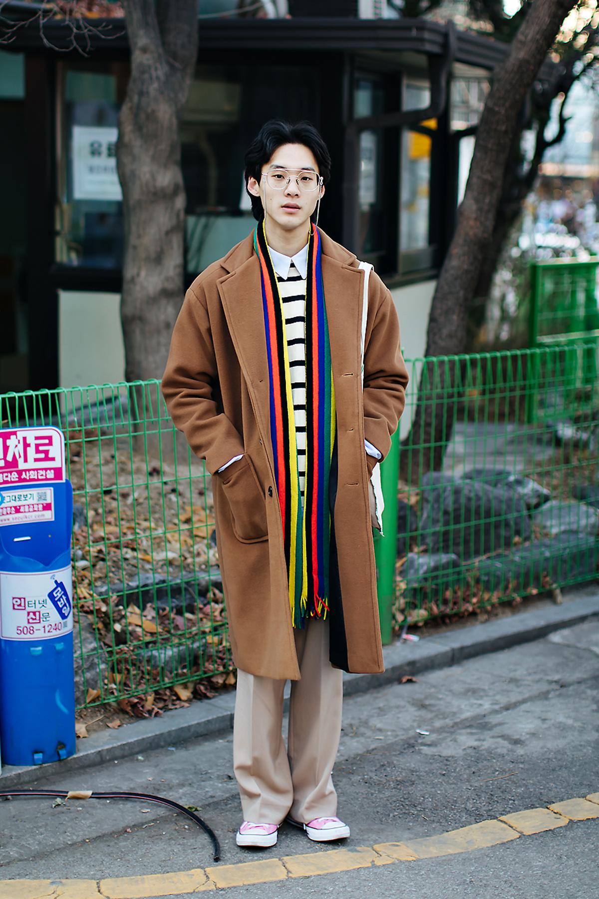 Lee Hyunsoo, Street style men winter 2017-2018 inseoul