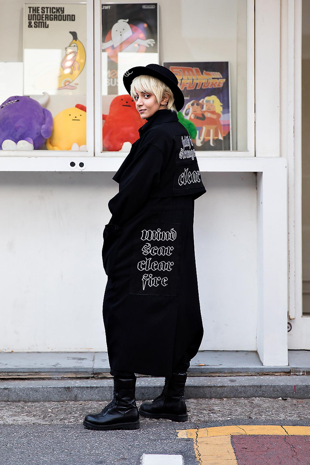 No A, Street style women winter 2017 inseoul