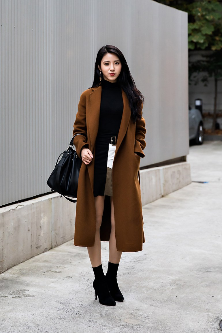 Oh Hyeji, Street style women winter 2017 inseoul