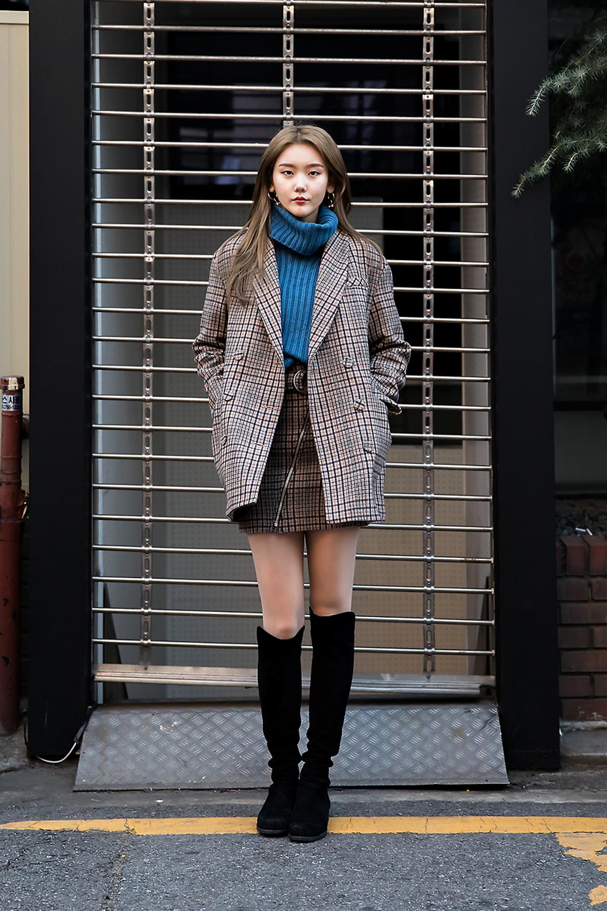 Sim Soyoung, Street style women winter 2017 inseoul #2