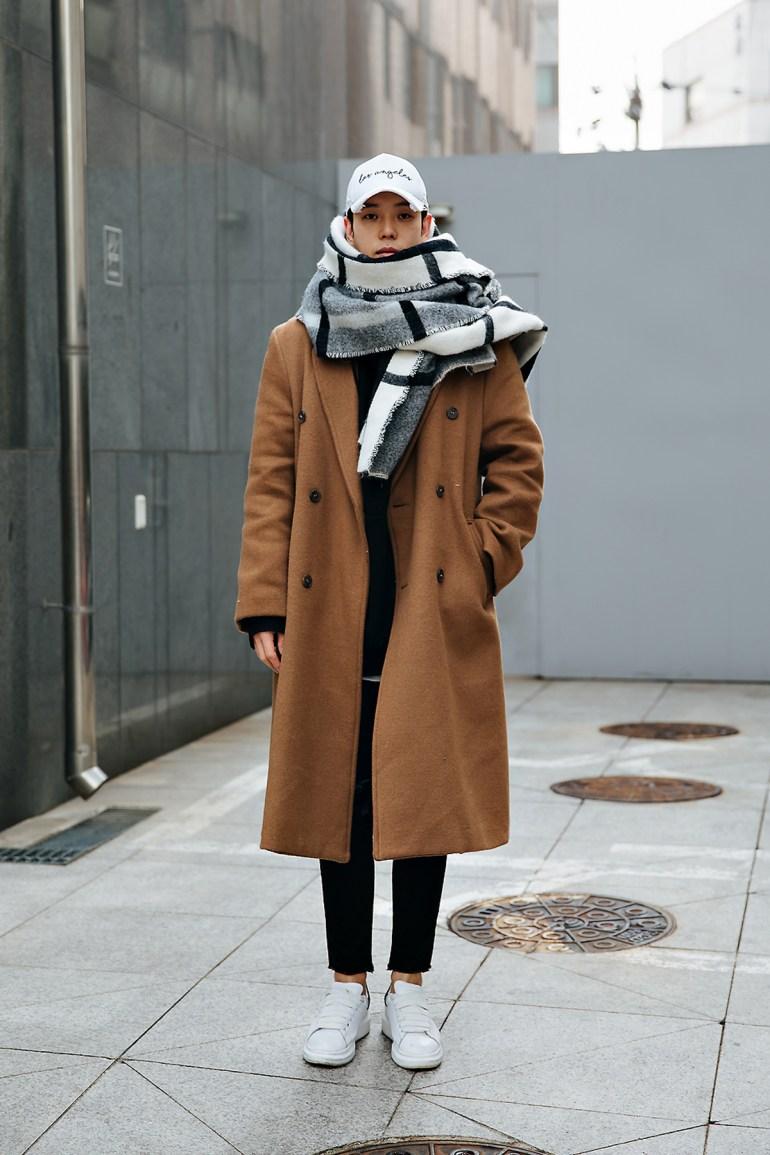 Kang Seokchul, Street style men winter 2017-2018 inseoul
