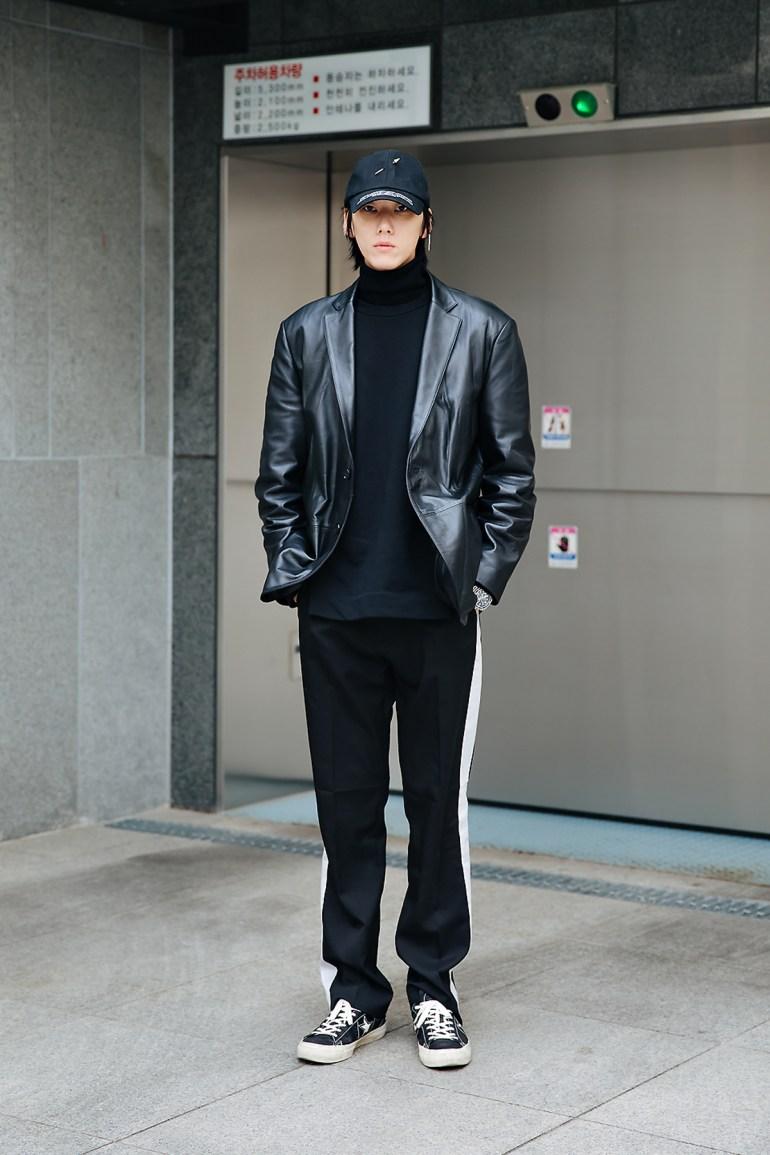 Kim Youngkyu, Street style men winter 2017-2018 inseoul