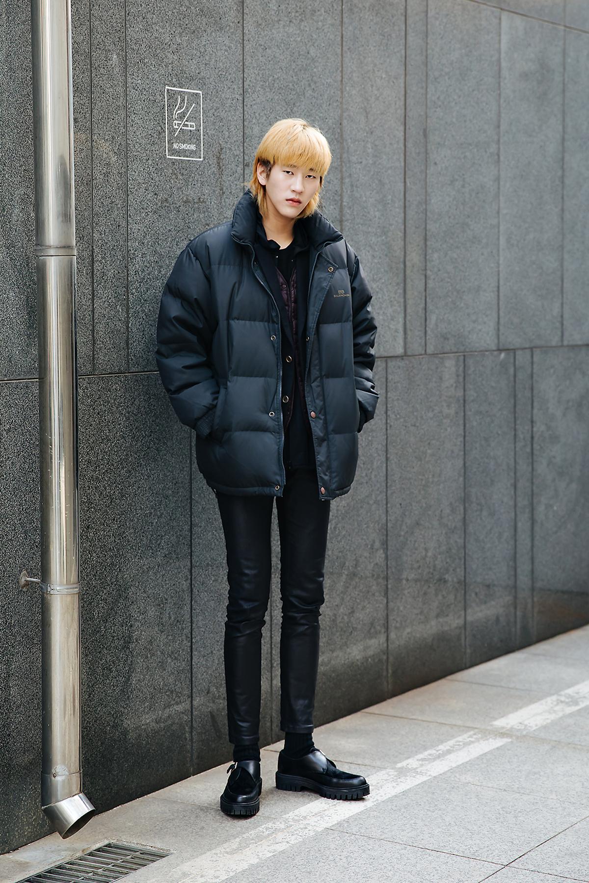 Lee Chunghyub, Street style men winter 2017-2018 inseoul1