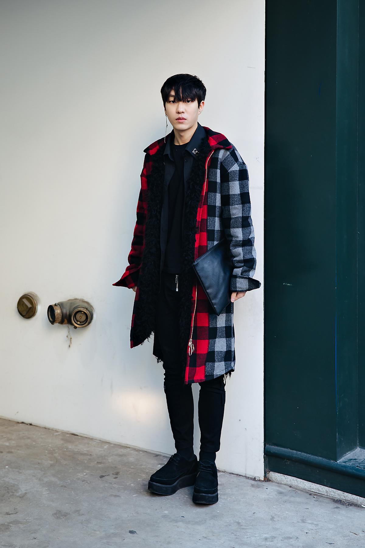 Lee Kyungheon, Street style men winter 2017-2018 inseoul