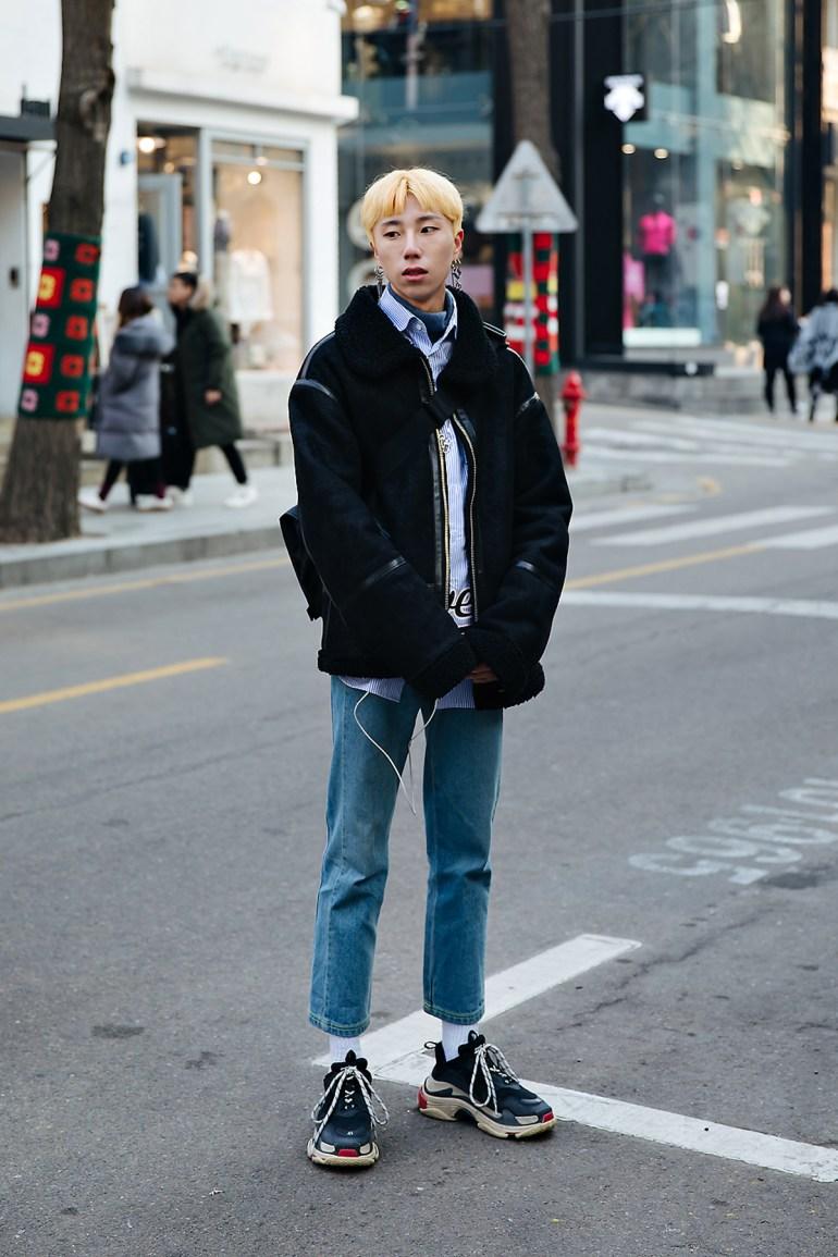 Lee Taegil, Street style men winter 2017-2018 inseoul