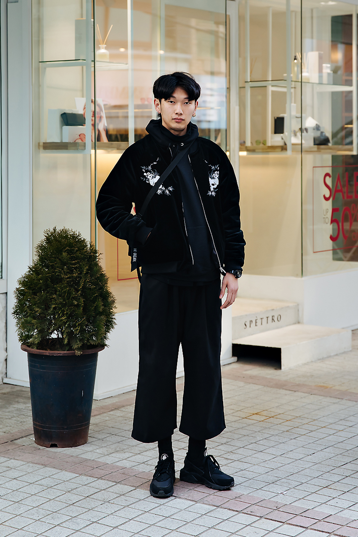 Ryu Jaemu, Street style men winter 2017-2018 inseoul