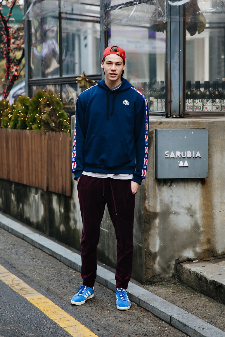 Arie, Street style men winter 2017-2018 inseoul