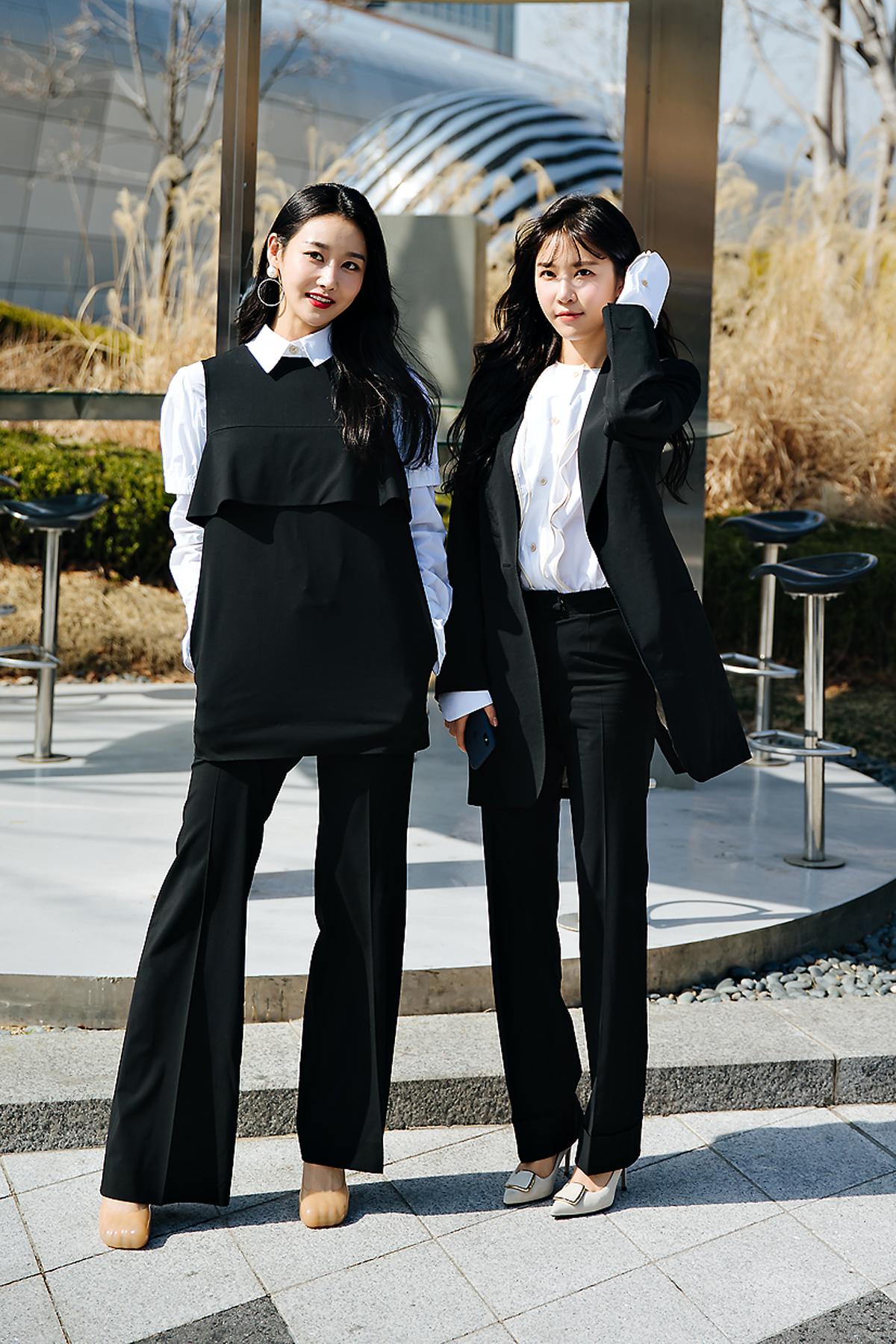 Geum Mi, Elen, SEOUL FASHION WEEK STREETWEAR WOMENS 2018FW