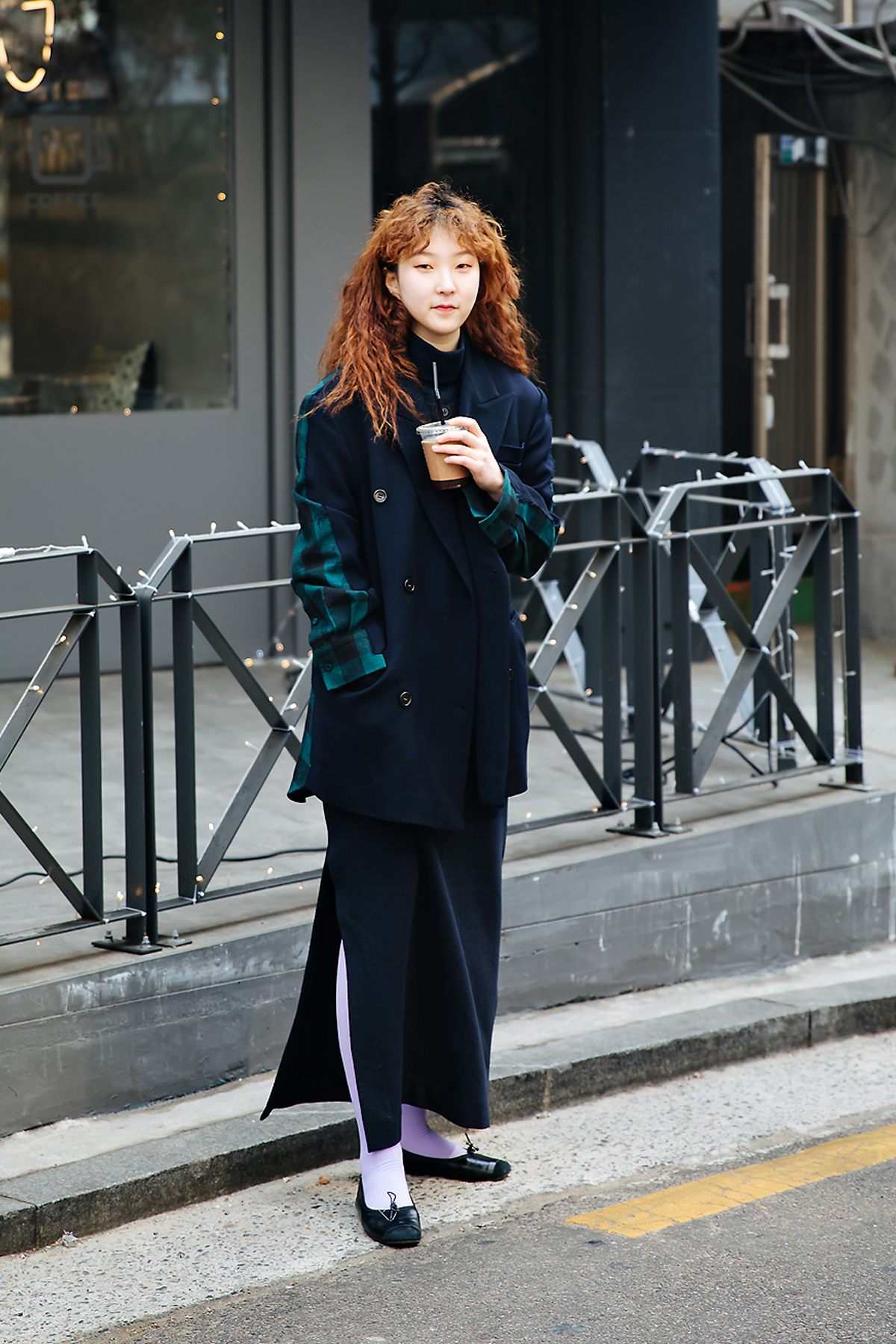 Hong Ayoung, Street style women winter 2017-2018 inseoul