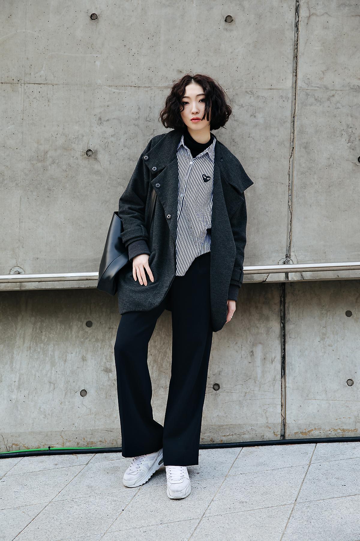 Jeon Sol, SEOUL FASHION WEEK STREETWEAR WOMENS 2018FW