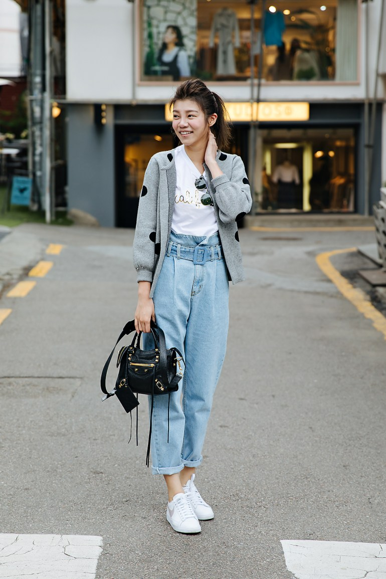 Jin, Street style women spring 2018 in seoul