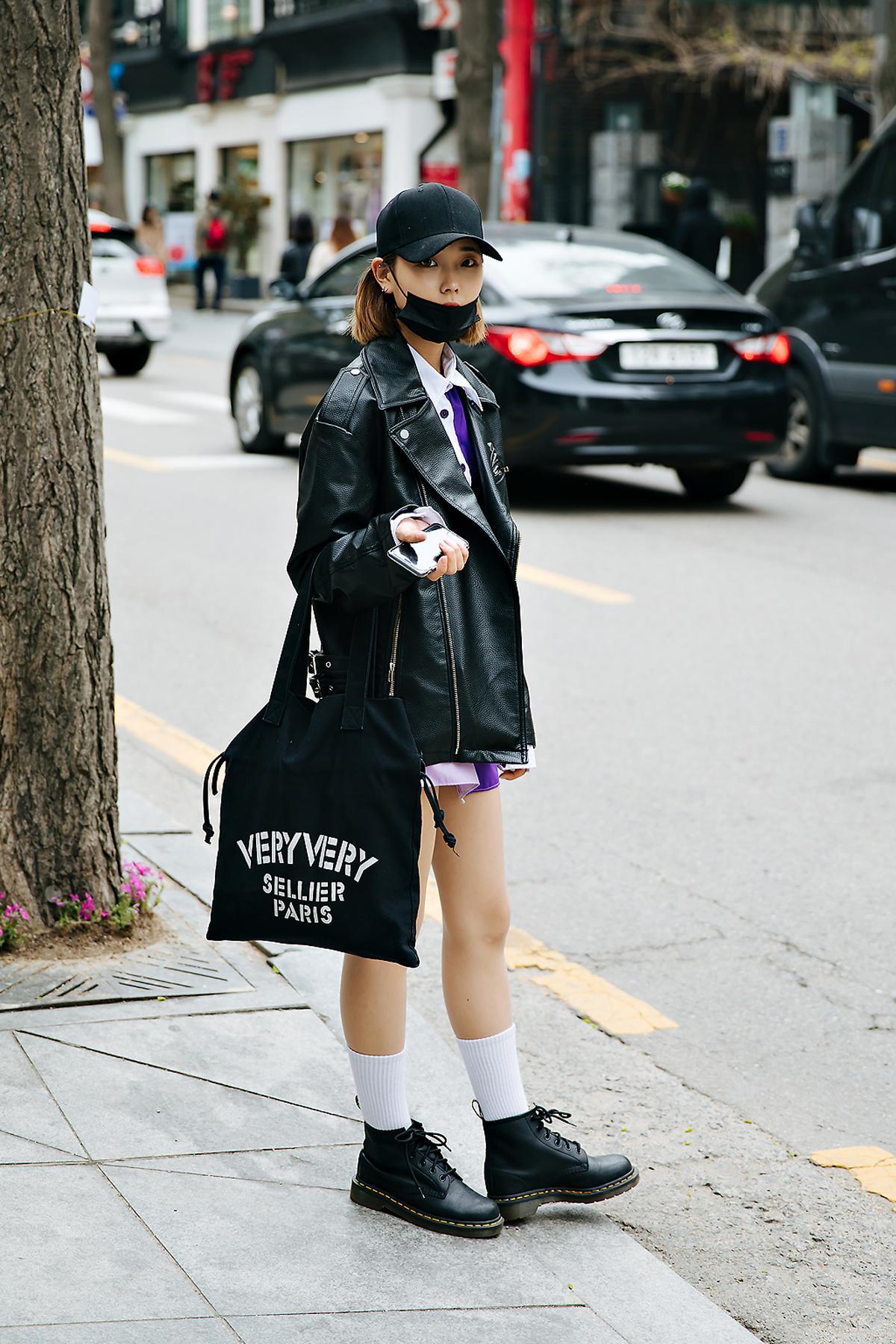 Jung Jaesun, Street style women spring 2018 in seoul