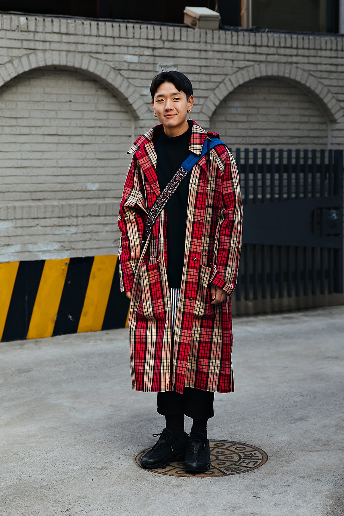 Jung Yeonjin, Street style men winter 2017-2018 inseoul