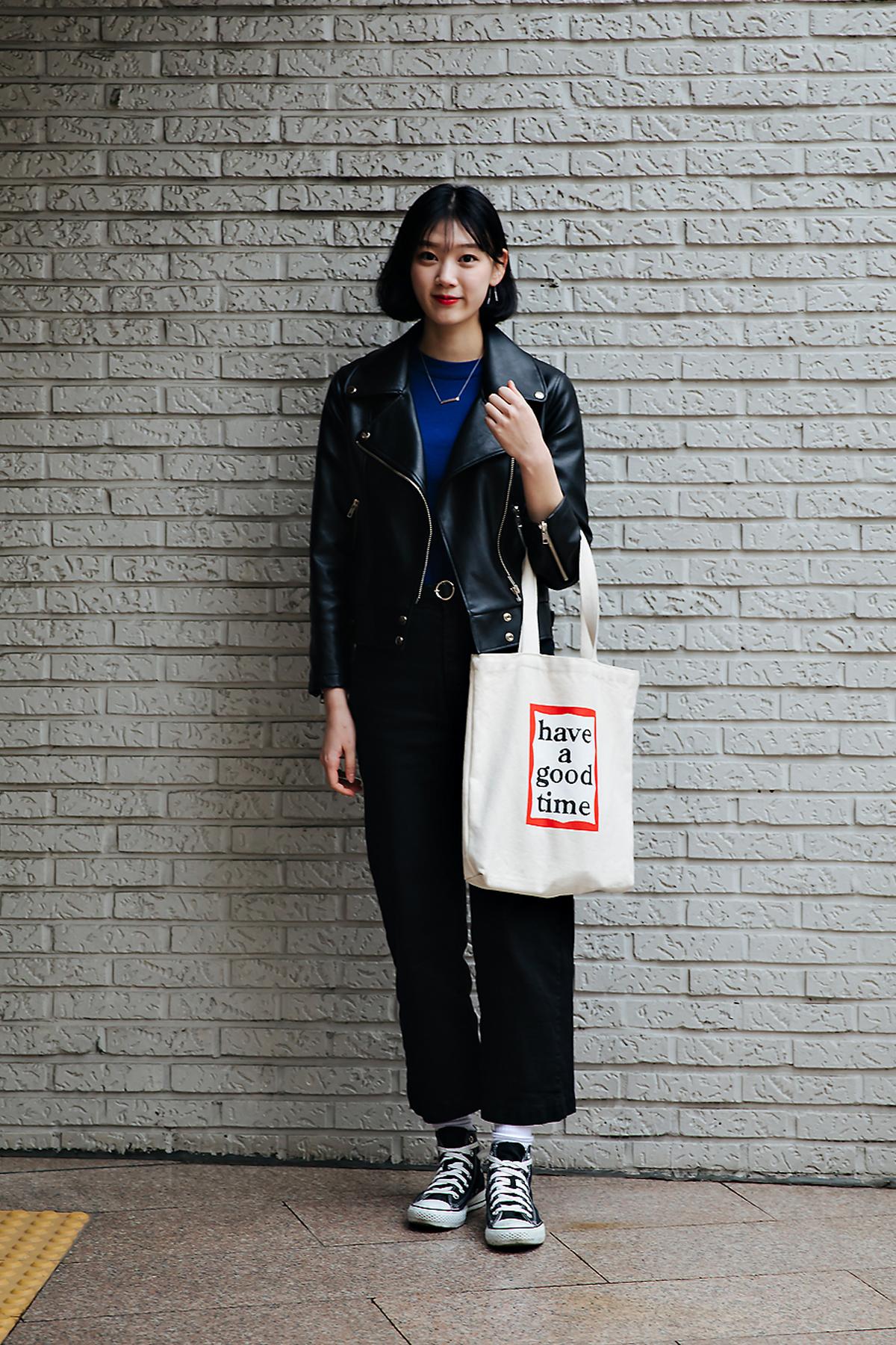 Kang Minjae, Street style women winter 2017-2018 inseoul