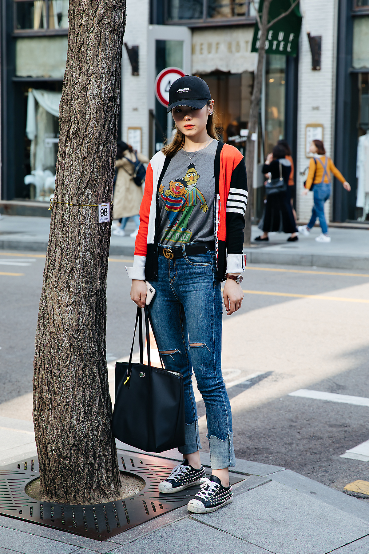 Kim Chojung, Street style women spring 2018 in seoul
