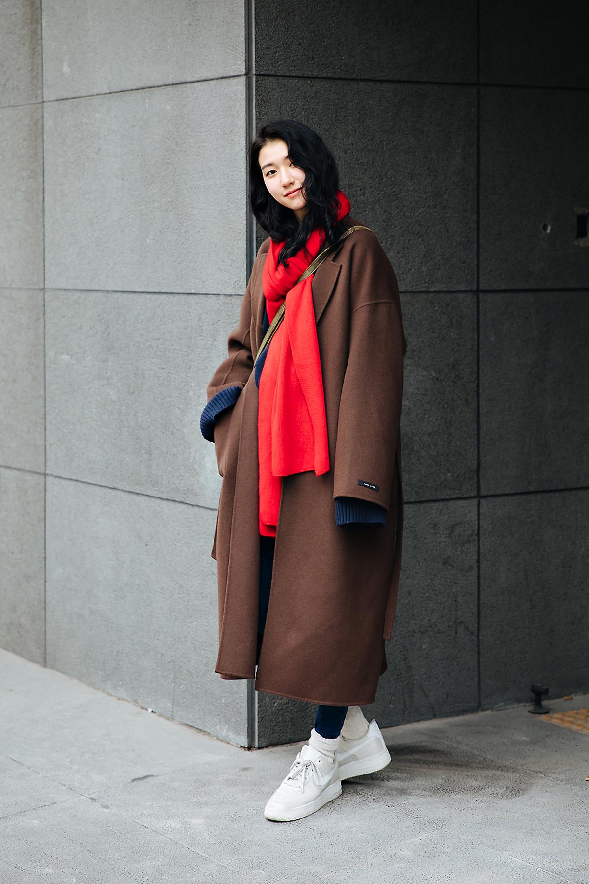 Kim Jiho, Street style women winter 2017-2018 inseoul