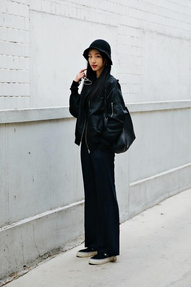 Kim Kiju, Street style women spring 2018 in seoul