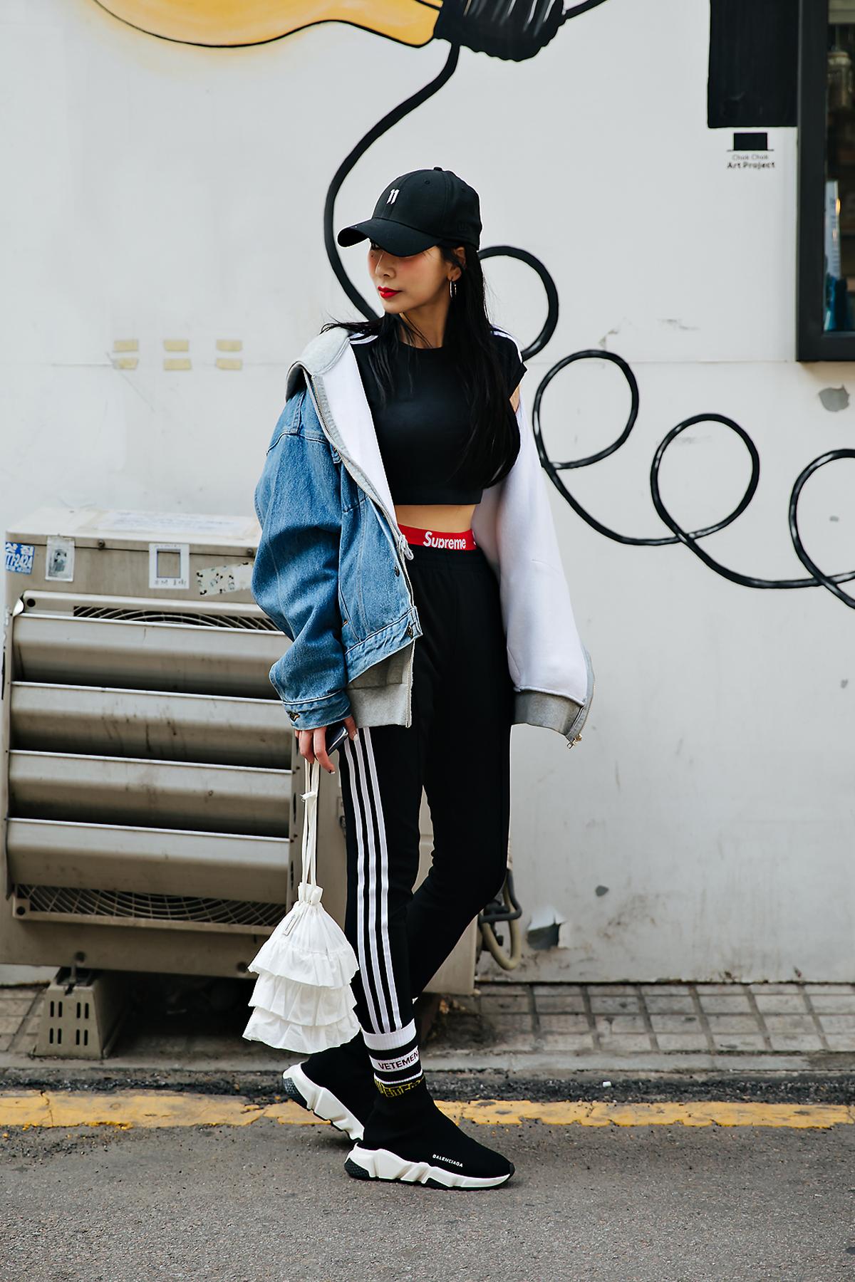Lee Chaerim, Street style women spring 2018 in seoul