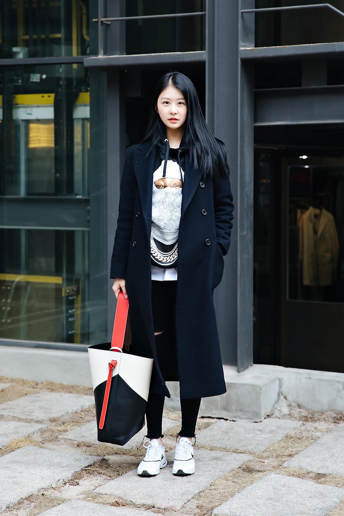 Lee Jinsoo, Street style women winter 2017-2018 inseoul