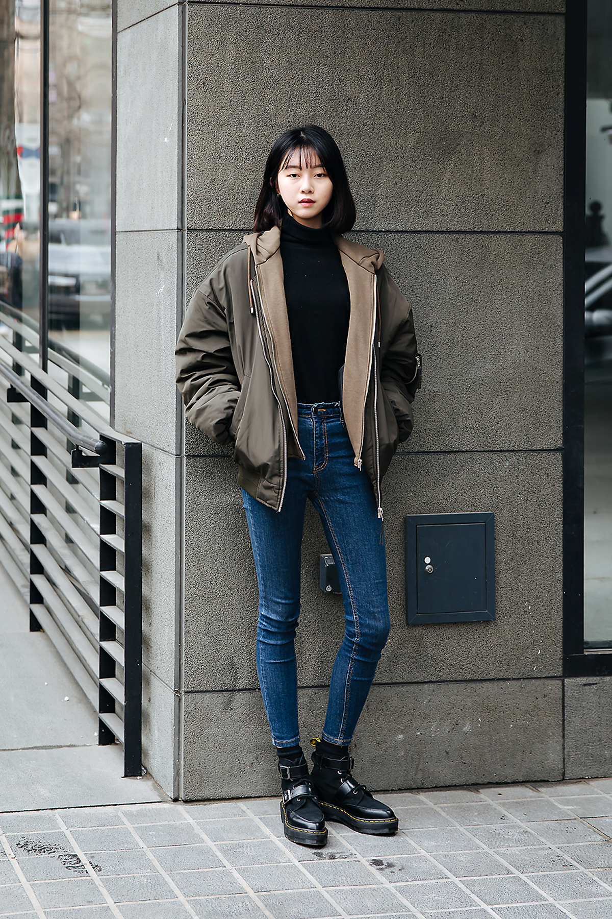 Lee Jiyoon, Street style women winter 2017-2018 inseoul