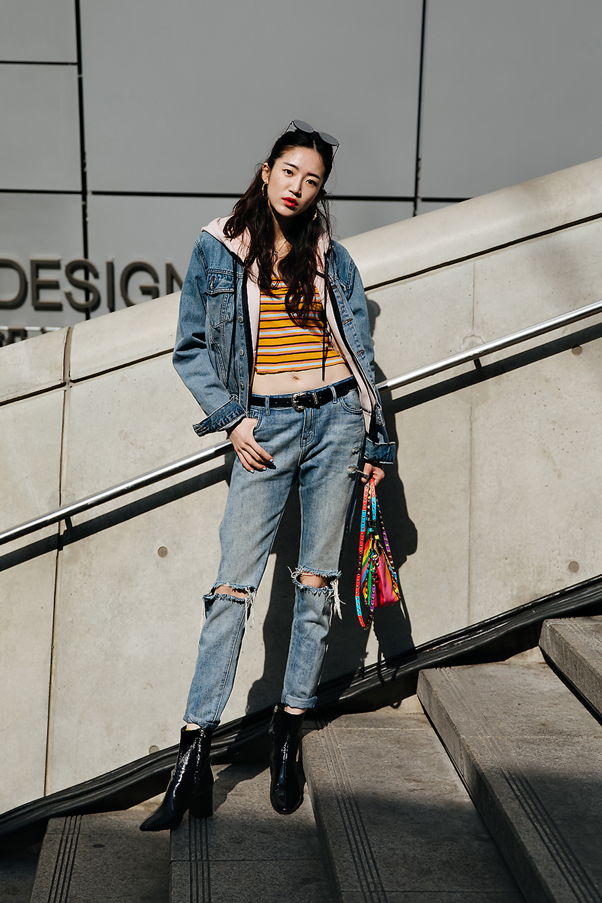 Lee Songyi, SEOUL FASHION WEEK STREETWEAR WOMENS 2018FW