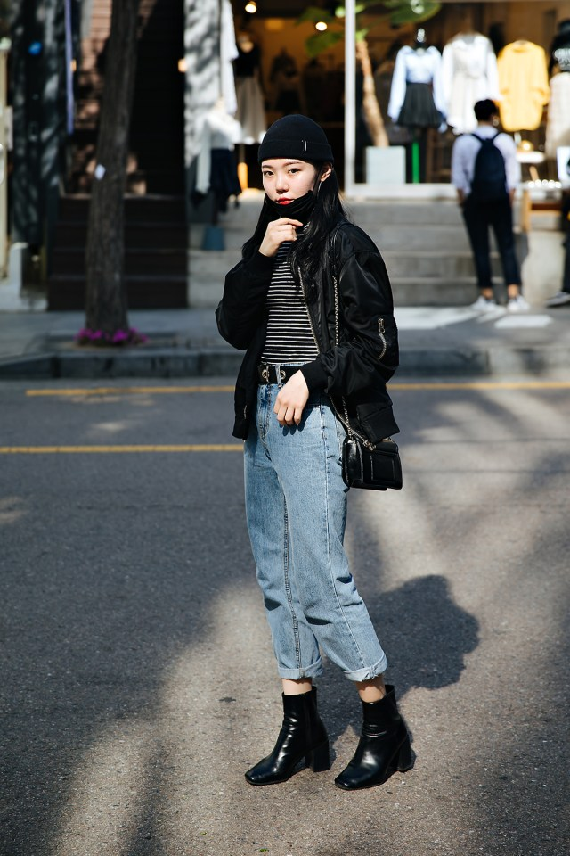 Park Soohwa, Street style women spring 2018 in seoul