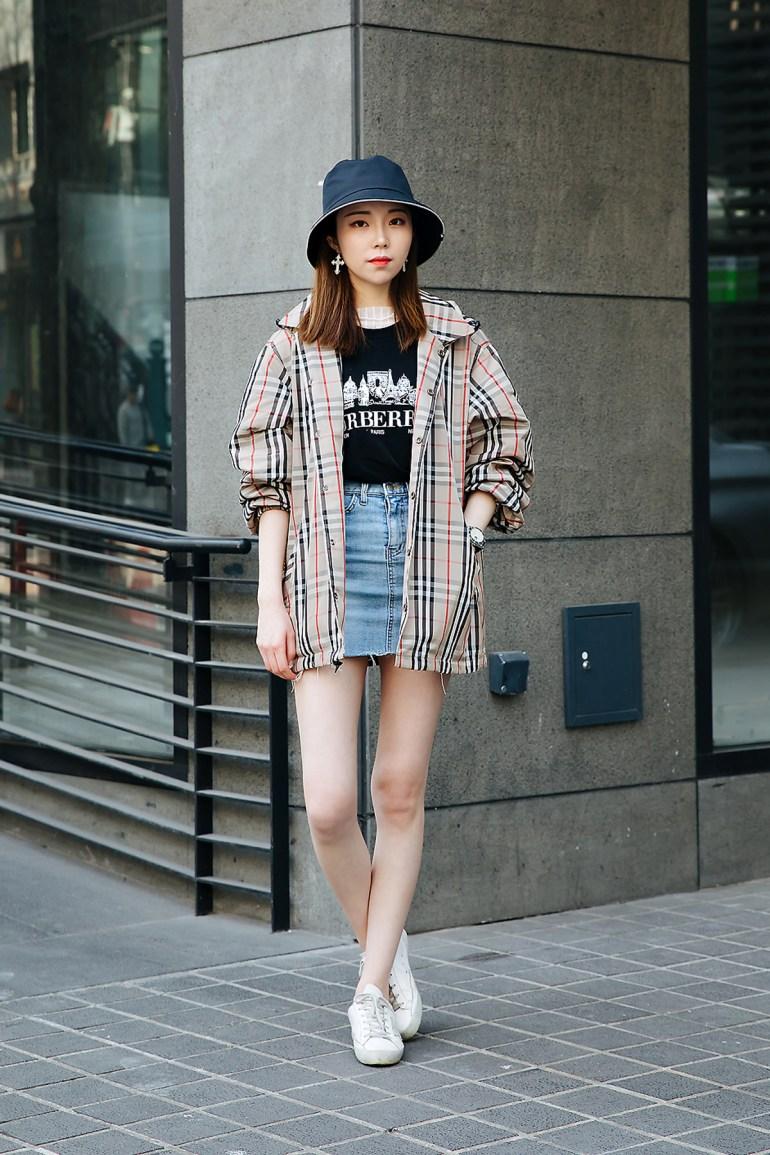 Wang Rimseo, Street style women spring 2018 in seoul
