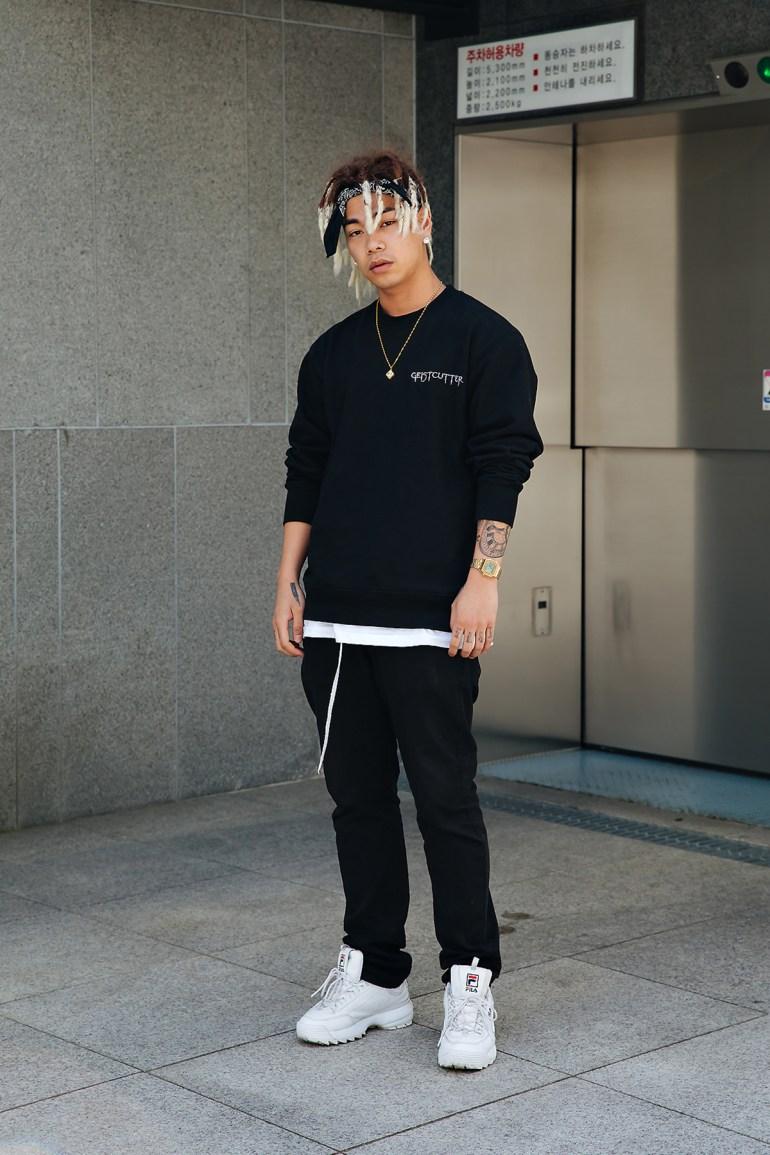 Chris, Street style men spring 2018 inseoul