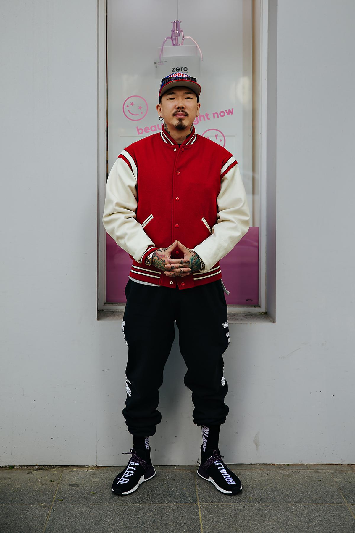 Ji Hyunwoo, Street style men spring 2018 in seoul