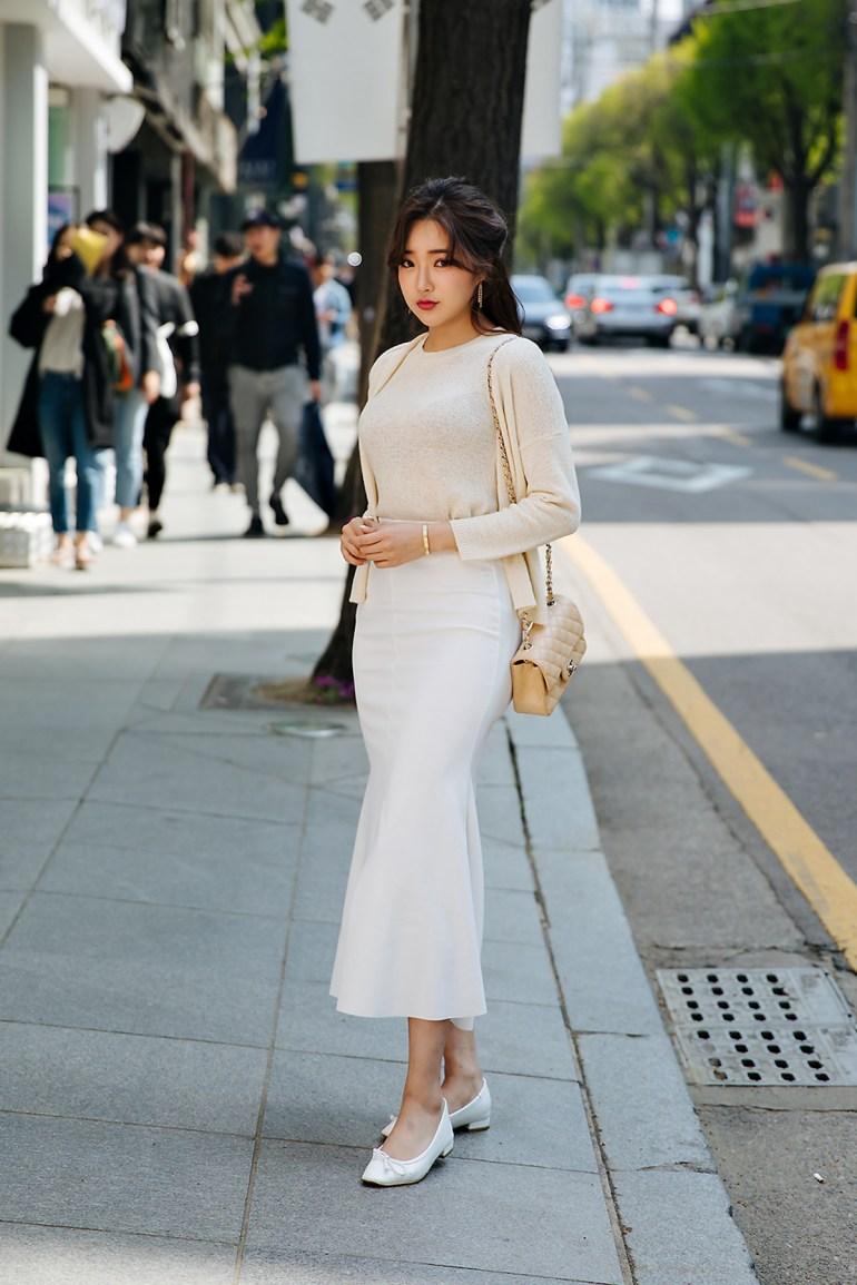 Kang Eunwook, Street style women spring 2018 in seoul