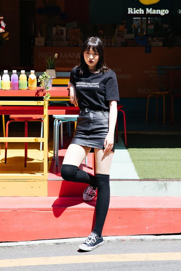 Kim Jieun, Street style women spring 2018 in seoul