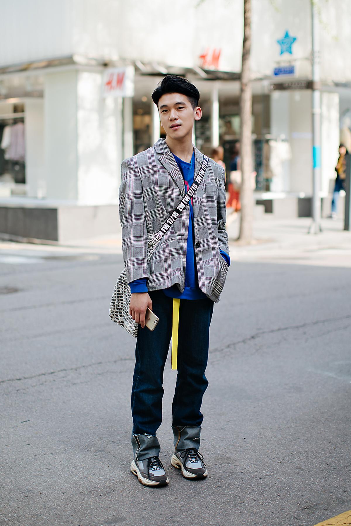 Kwak Kyungchul, Street style men spring 2018 inseoul