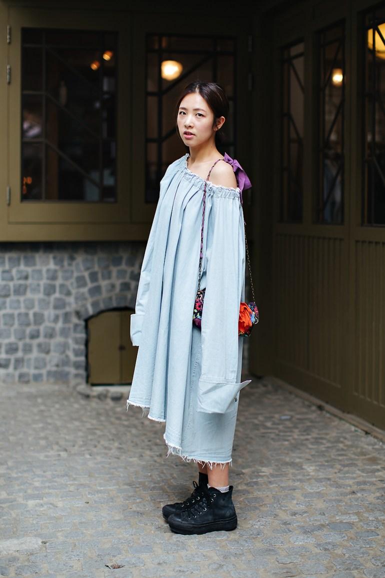 Lee Soojung, Street style women spring 2018 in seoul